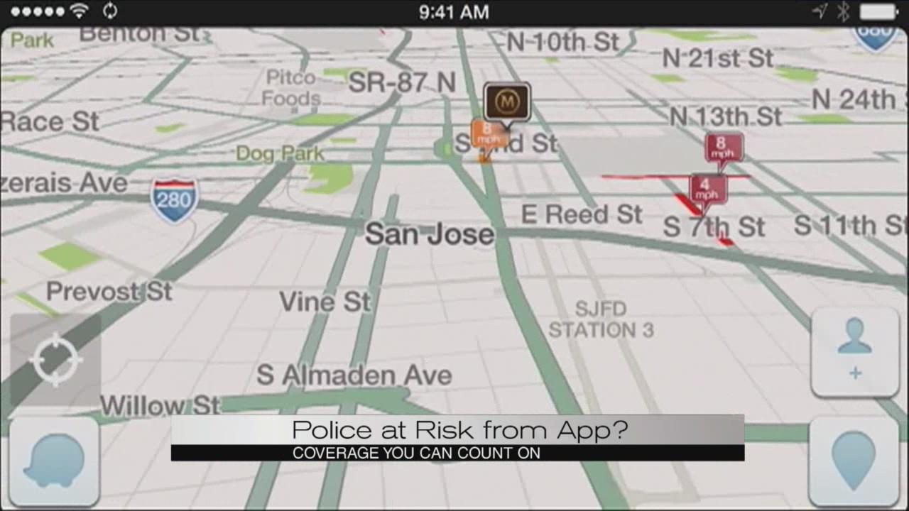 Local law enforcement concerned about 'Waze' app