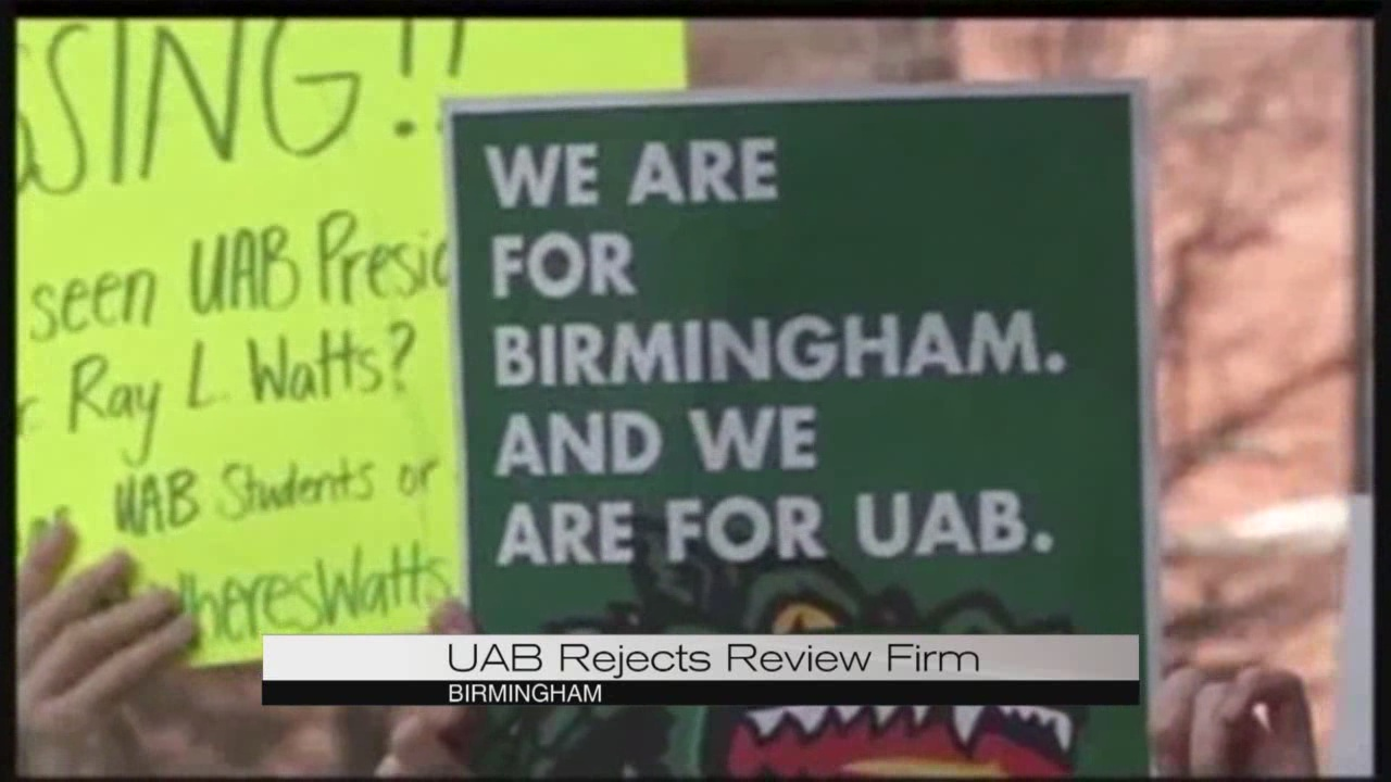UAB rejects firm selected to conduct financial review