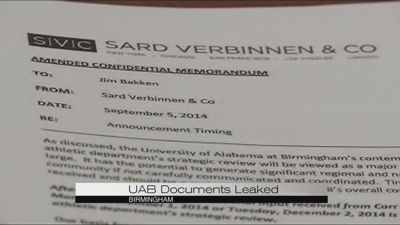 Documents suggest UAB considered Sept. football announcement