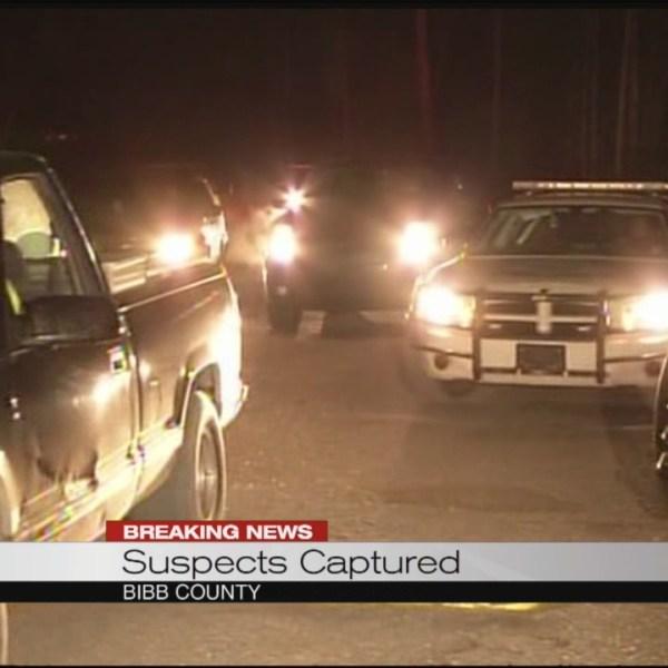 Bibb County Suspect captured