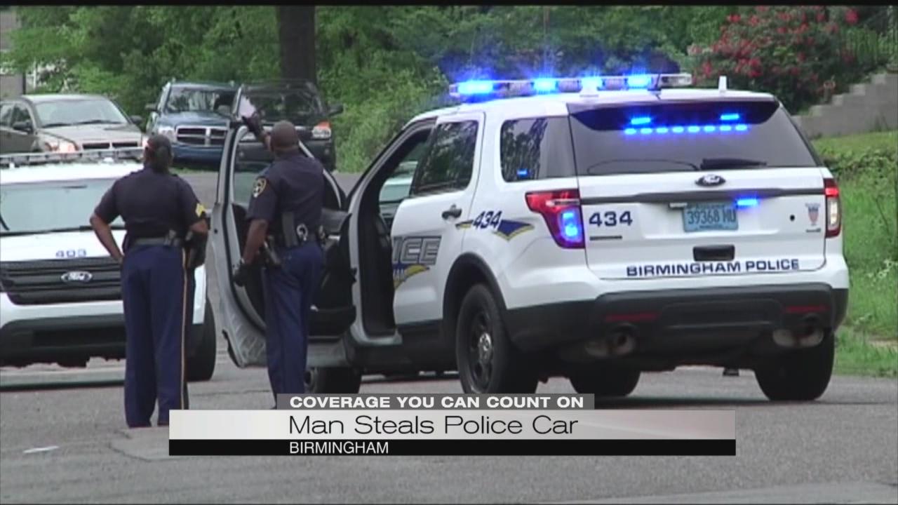 Man steals cop car_95284