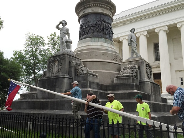Confederate flags removed_103780