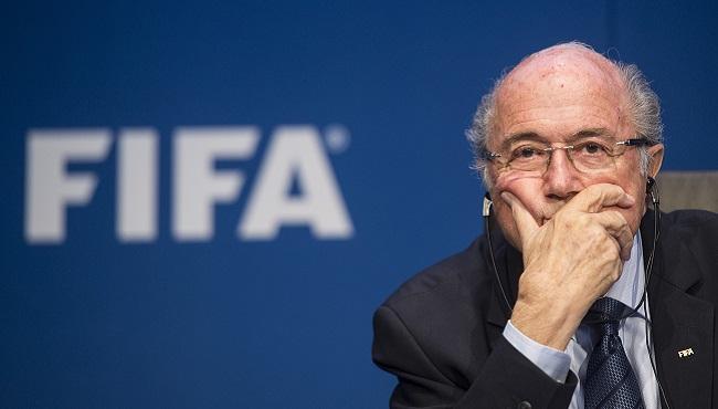 APTOPIX Switzerland Soccer FIFA Investigation Blatter_102557