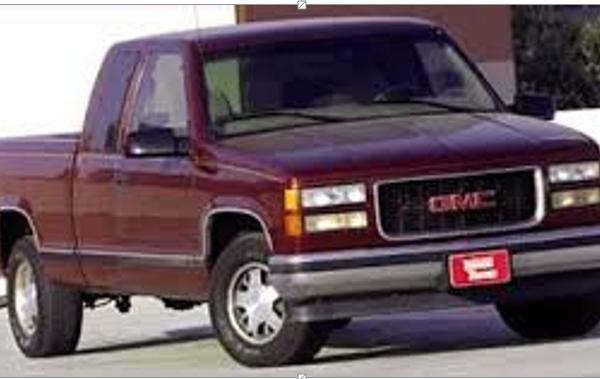 GMC truck_101221