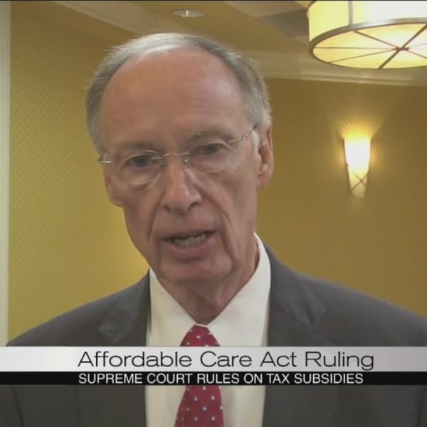 Governor Bentley on Supremem Court ACA ruling_104036