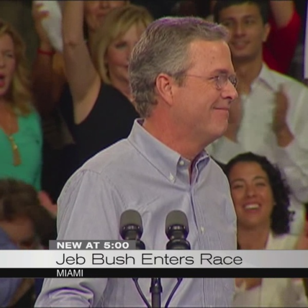 Jeb Bush announces bid for republican nomination_102342