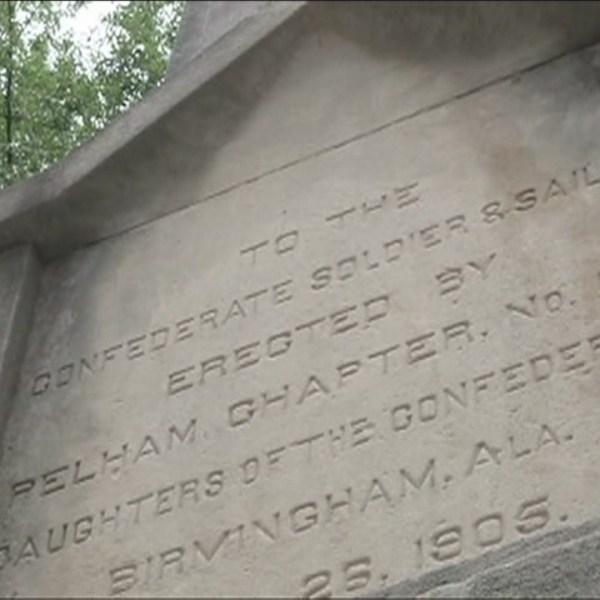 Confederate memorial in Linn Park Birmingham Alabama_104773