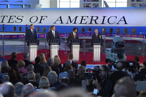 Bobby Jindal, Rick Santorum, Lindsey Graham, George Pataki_120112