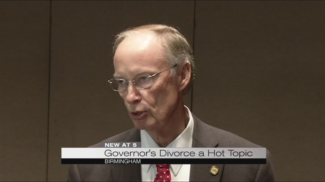 Governor's divorce a hot topic