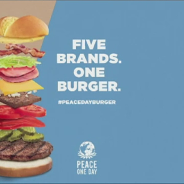 International Peace Day Burger_120905