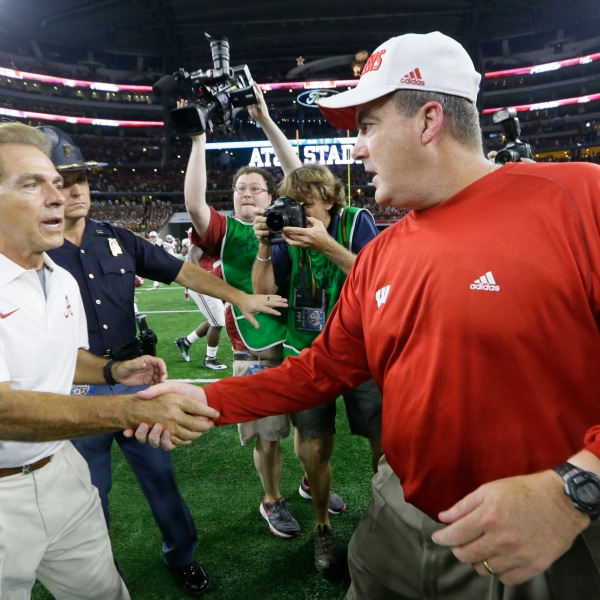 Nick Saban, Paul Chryst_117854