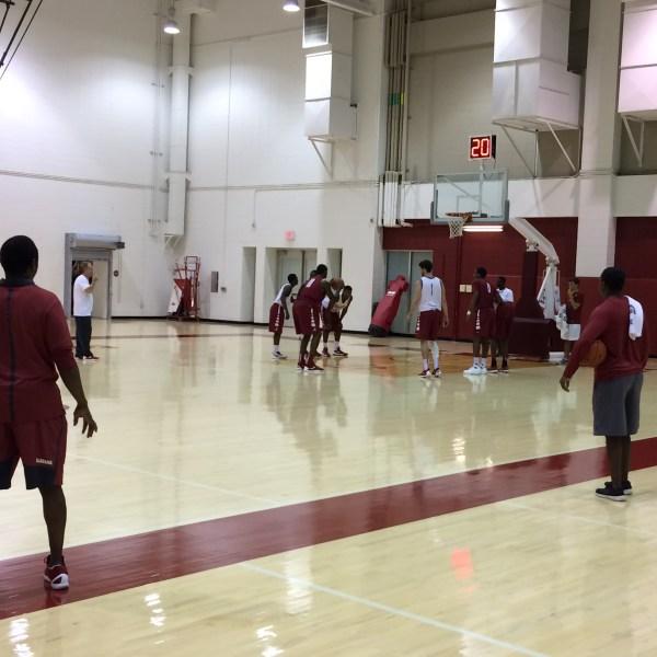 Bama Basketball Avery Johnson_126522