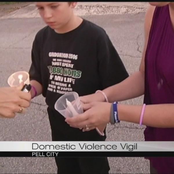 Domestic violence vigil_124382