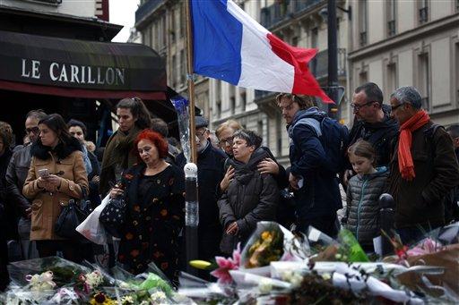 APTOPIX France Paris Attacks_134763