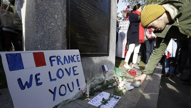 France Paris Attacks Boston_135179