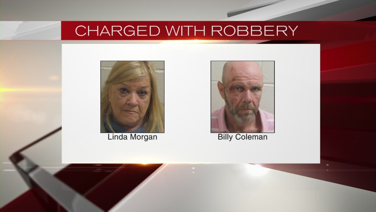 Mom & Son Charged with Robbery