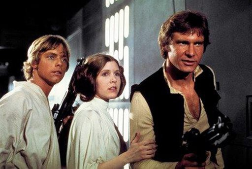 Mark Hamill Carrie Fisher Harrison Ford_141261