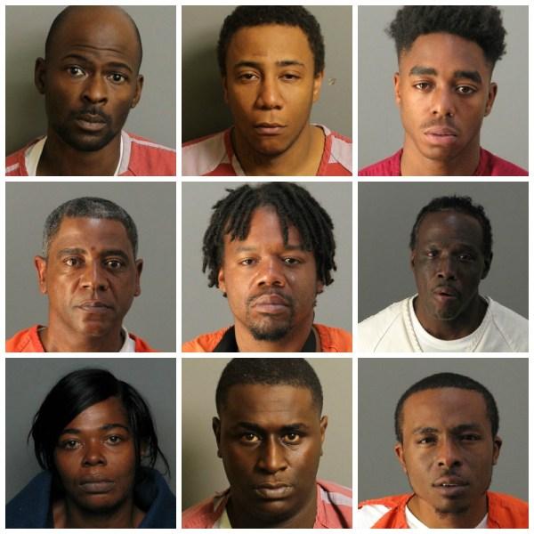 9 arrested_148122