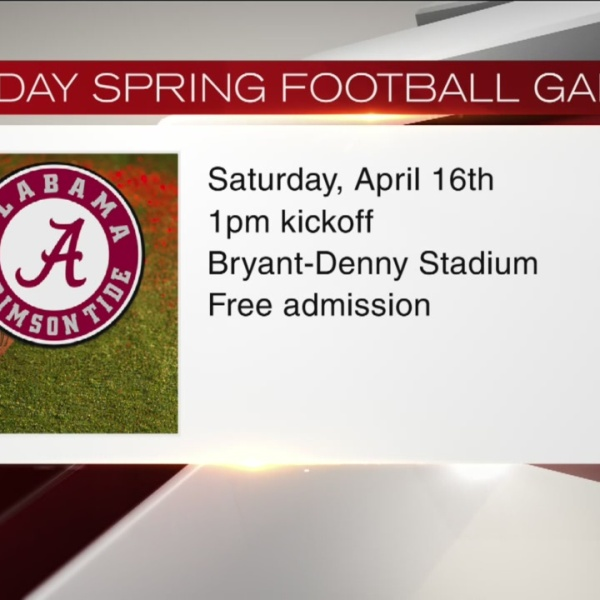 A-Day Spring Football Game