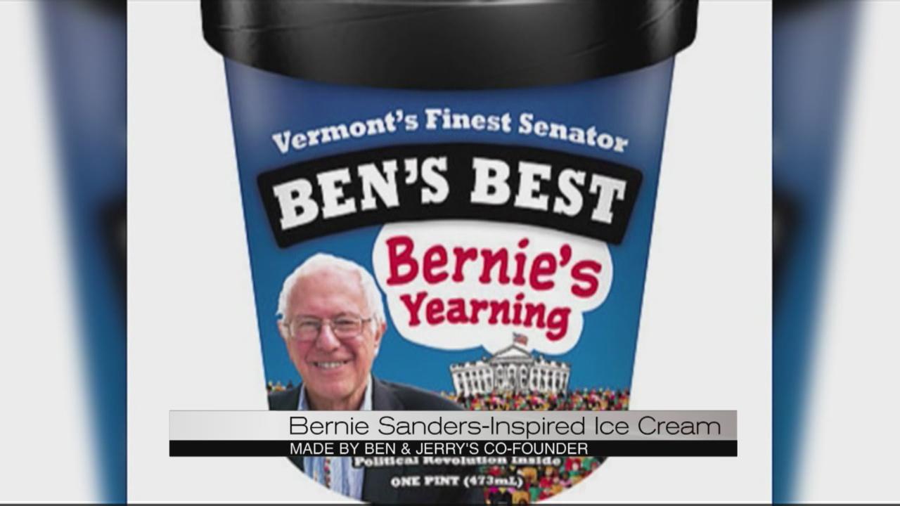 Bernie Sanders ice cream_147688