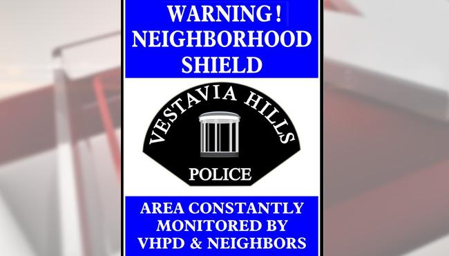 Vestavia Hills neighborhood watch_144563