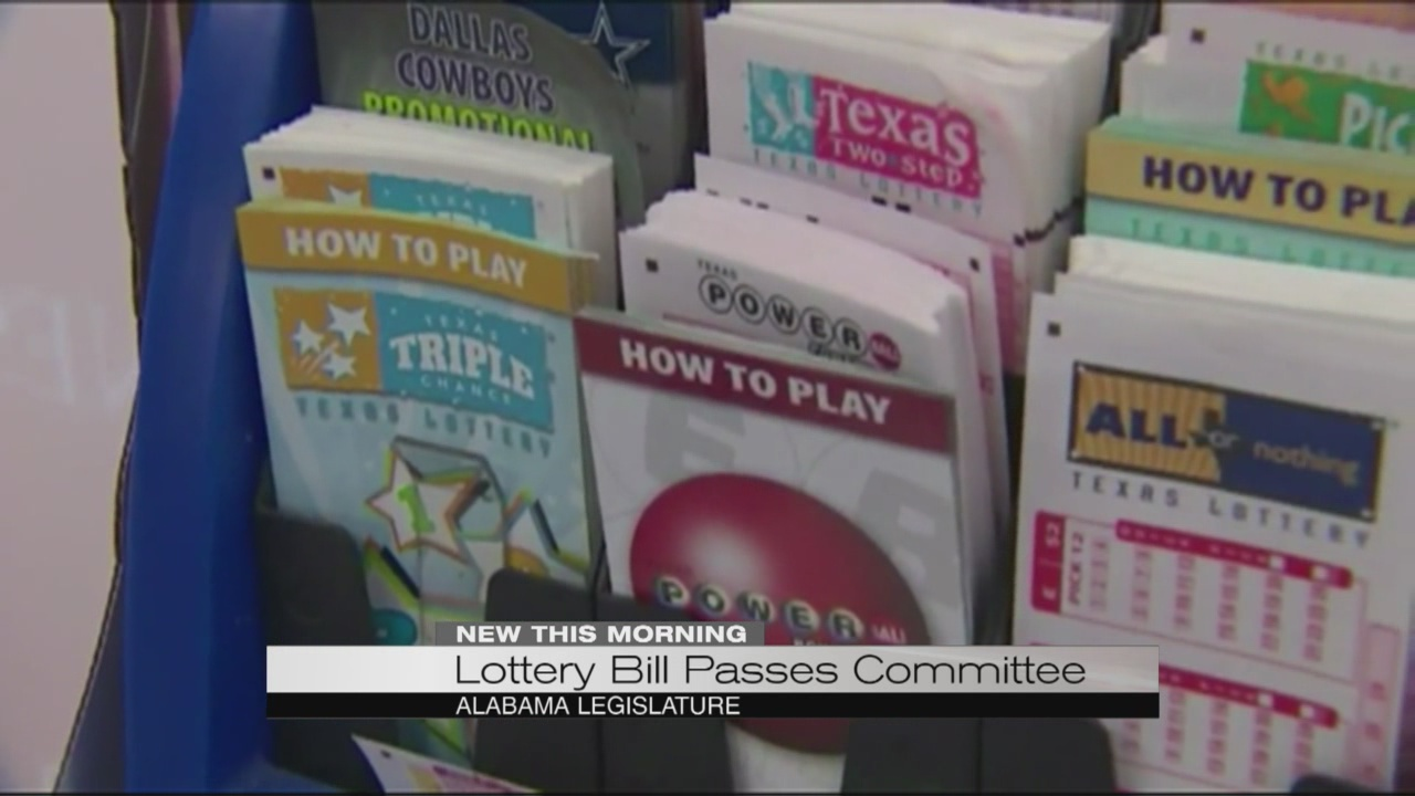 Lottery bill passes committee