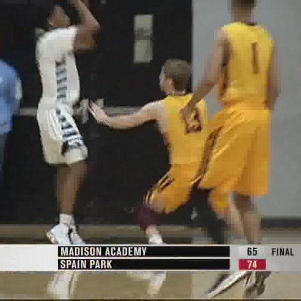 Spain Park beats Madison Academy, 74-65