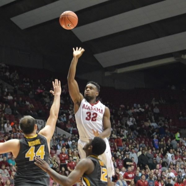 Retin Obasohan Alabama Basketball_150551