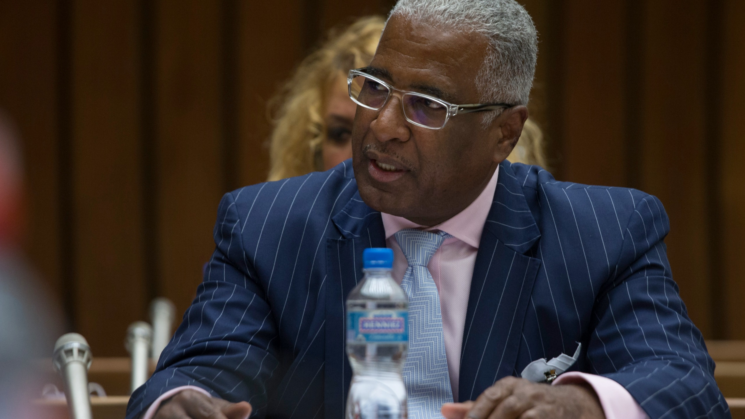 William Bell, Mayor of Birmingham, Alabama, Addresses CERD Commi_112755