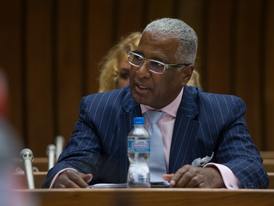 William Bell, Mayor of Birmingham, Alabama, Addresses CERD Commi_112755