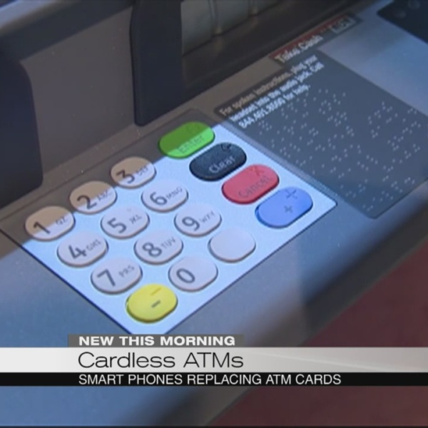 Cardless ATMs