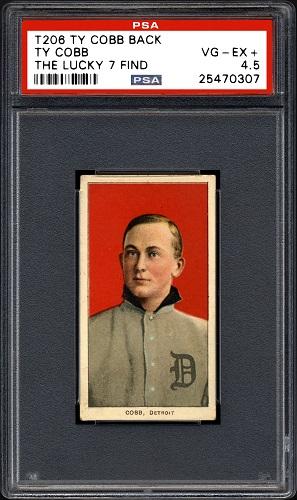 Ty Cobb, baseball card_156810