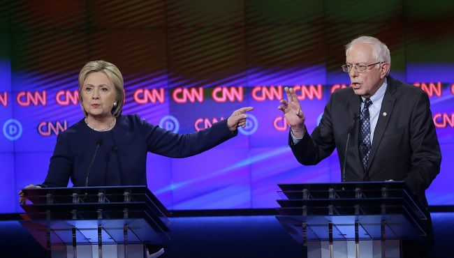 Bernie Sanders, Hillary Clinton_157752