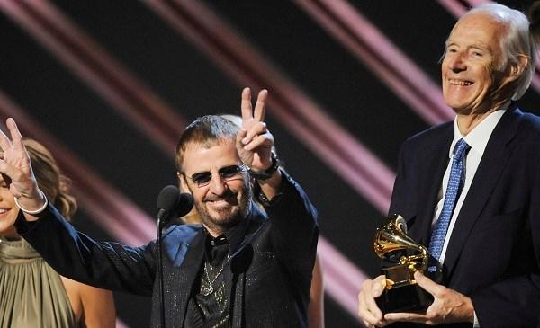 Ringo Starr, George Martin_158312