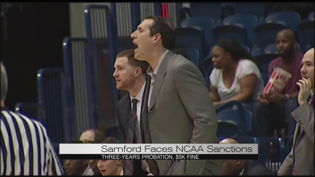 Samford Faces NCAA Sanctions