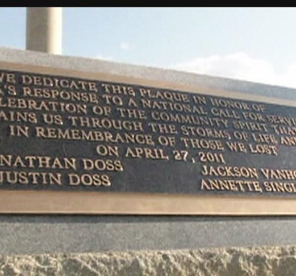 Cordova Remembrance Sign_168106