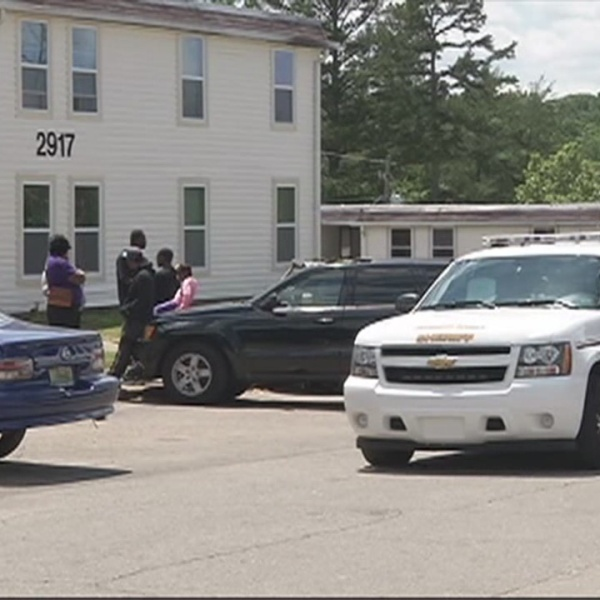 Two Shot At Apartment Complex