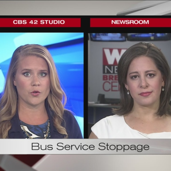 Bus service to Fairfeld stopped in wake of city's financial trouble