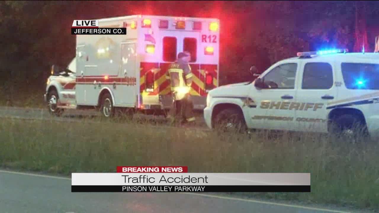 Pedestrian struck on Pinson Valley Parkway_172609