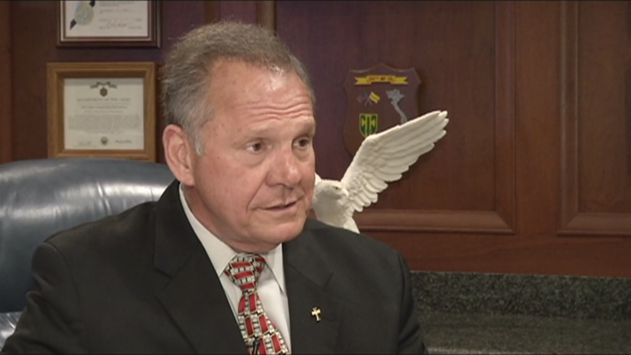 Roy Moore interview on same-sex marriage ruling by SCOTUS_104302