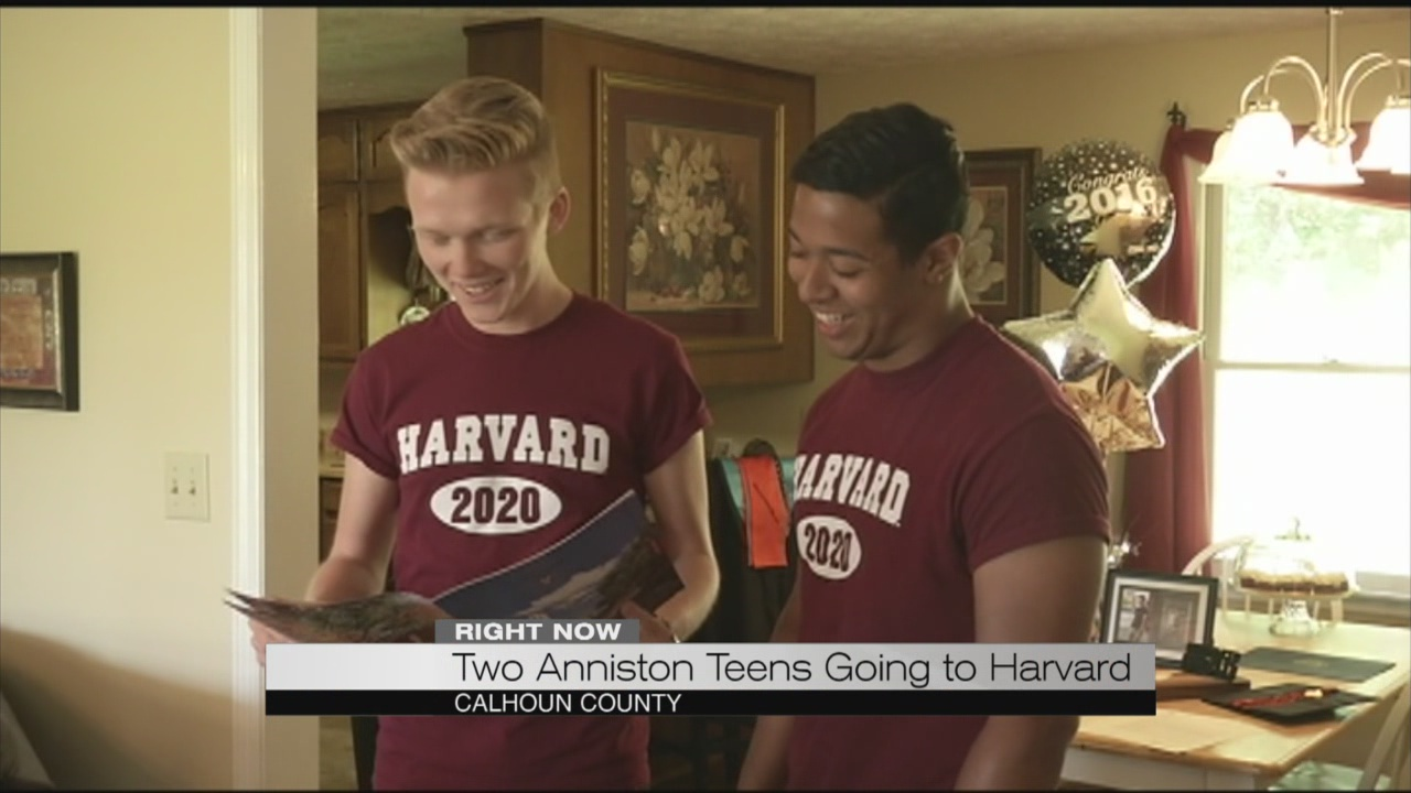 Two Anniston teens going to Harvard_173887