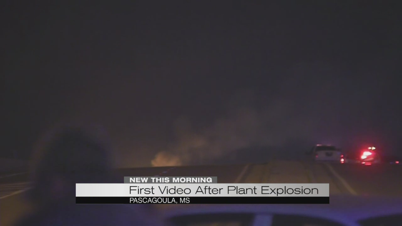 First video after plant explosion_178898