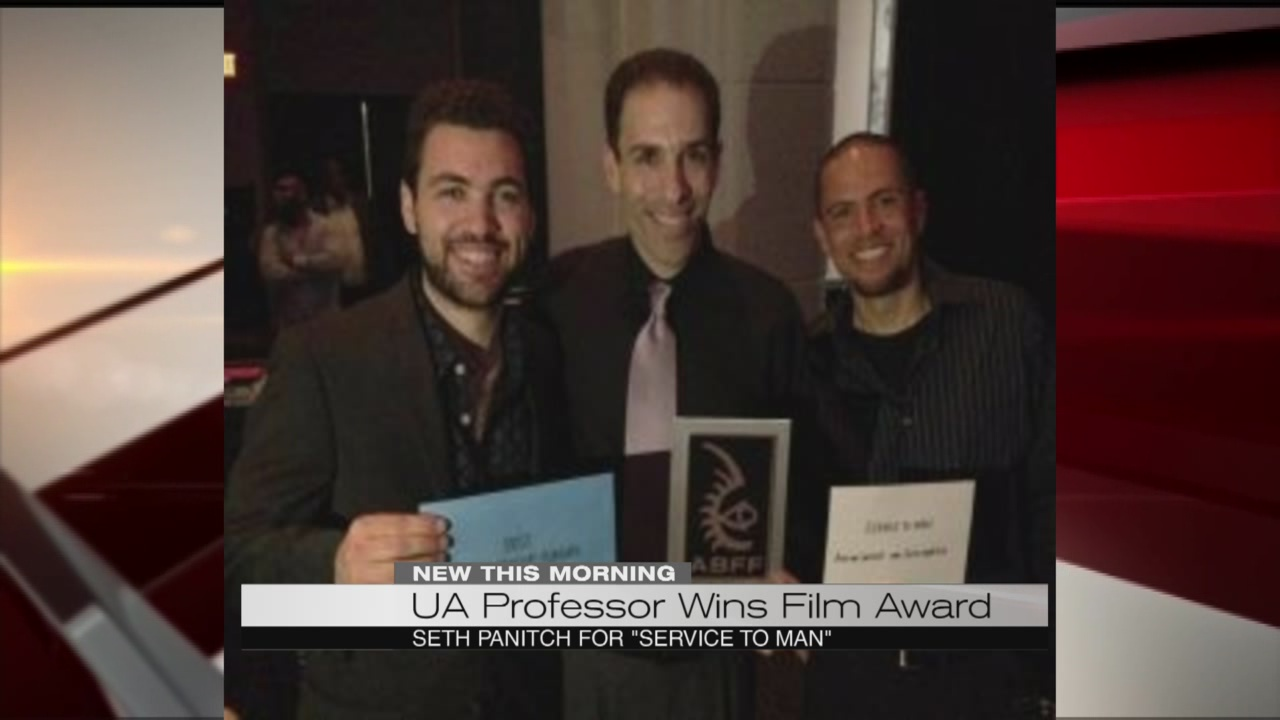 UA professor wins film award_177936