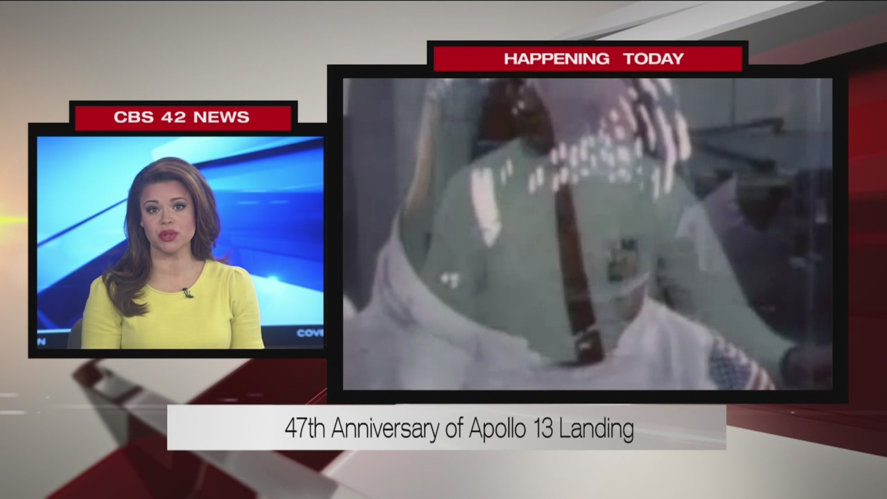 47th Anniversary of Apollo 13 landing