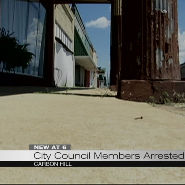 CIty council members arrested