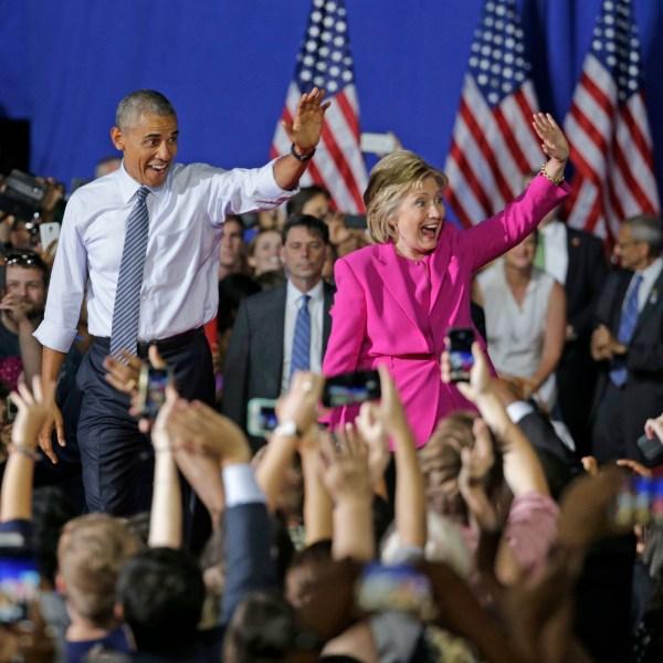 Barack Obama, Hillary Clinton_180167