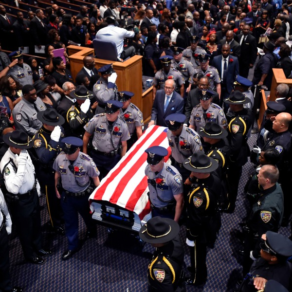 APTOPIX Police Funerals Baton Rouge_183718