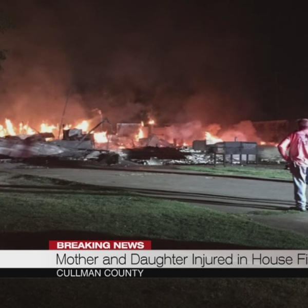 Mother and daughter injured in house fire_182789