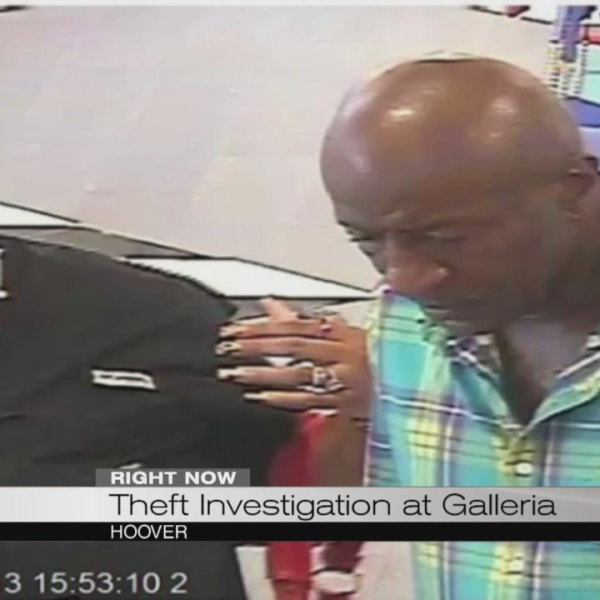 Theft investigation at Galleria_183226
