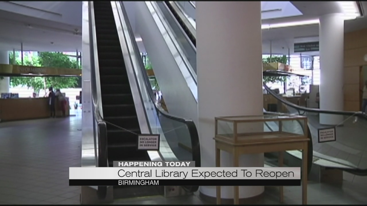 Central library expected to reopen_185807